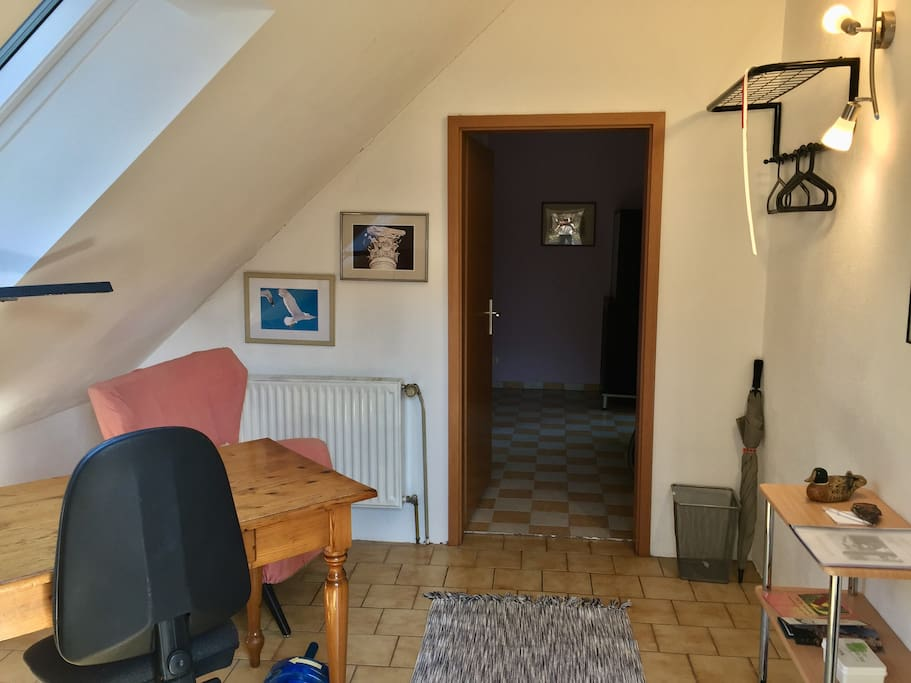 Blick in die Wohnung - View into the flat