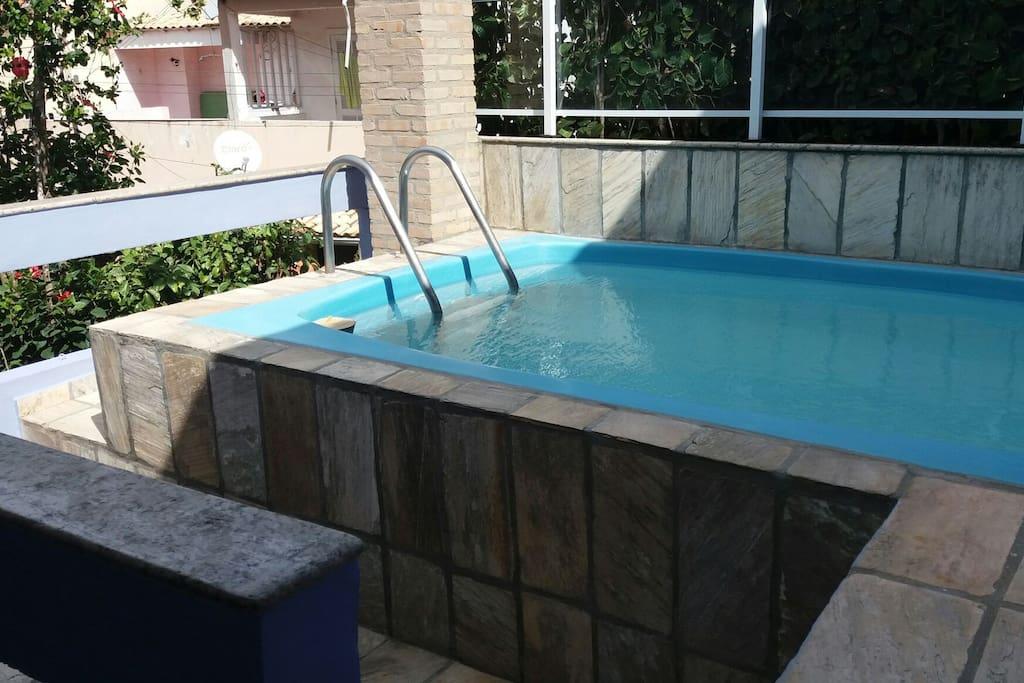 piscina infantil 3m x 2m X 0,90 cm profundidade.