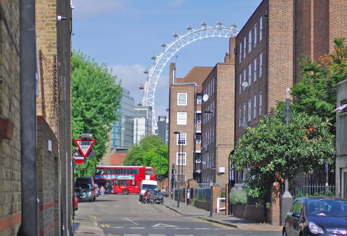 Close to the London Eye (a 10-minute walk)
