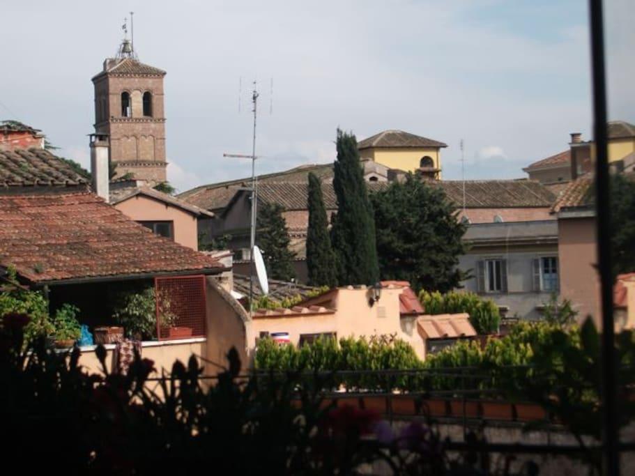 Campanile S. Maria in Trastevere