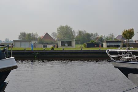 Slapen tussen de Friese Meren - Echtenerbrug