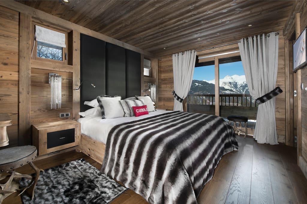 chambres spacieuses et chaleureuses