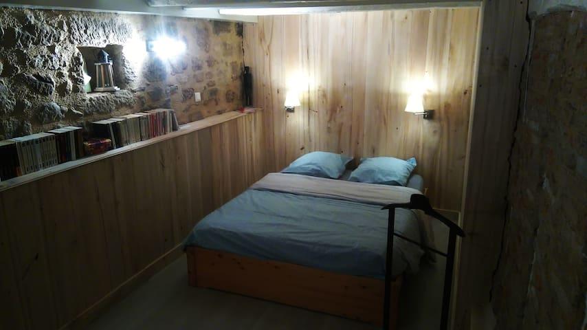 Chambre Cosy Maison Médiévale : Coeur Historique - Figeac - Rivitalo