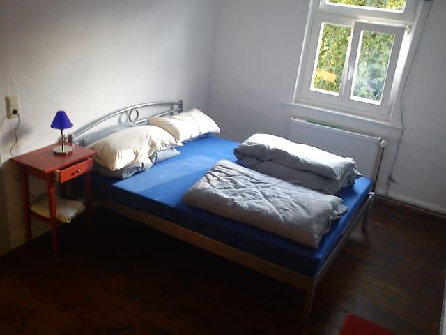 kleines Schlafzimmer oben