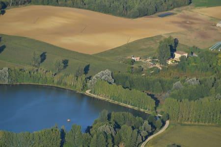 Cottage du Lac du Gouyre P - Puygaillard-de-Quercy - Chalet