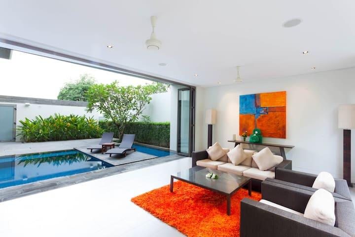 Spacious 3 BR seaview pool villa at Baan Yamu