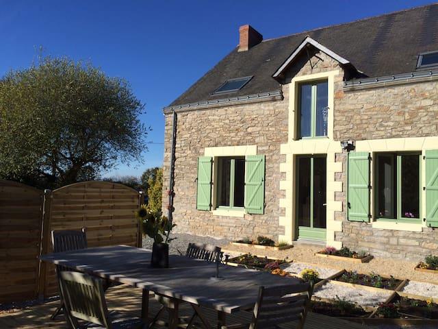 Chambre Moulin, double avec sanitaire privée - Vigneux-de-Bretagne - Wikt i opierunek