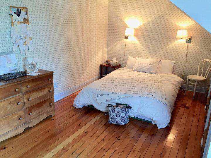 Un bon lit pour s'arrêter à Oka