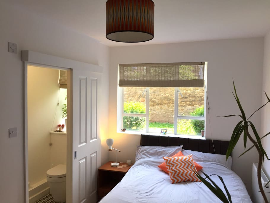 Your bedroom with ensuite to the left