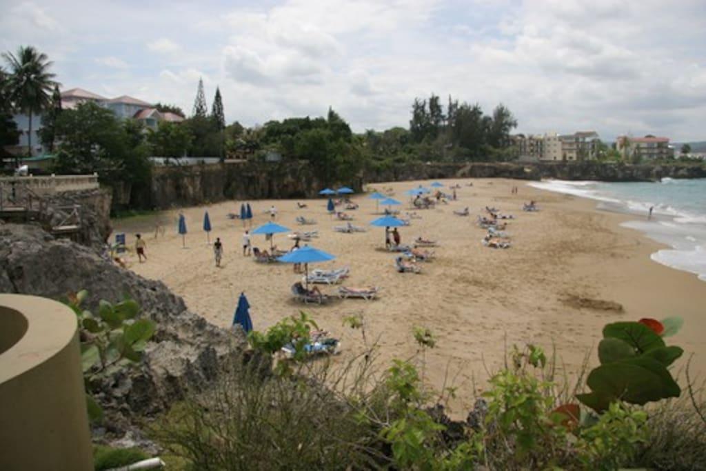 Playa Alicia and Las Terrazas Condo. View from Casa Marina Reef Resort