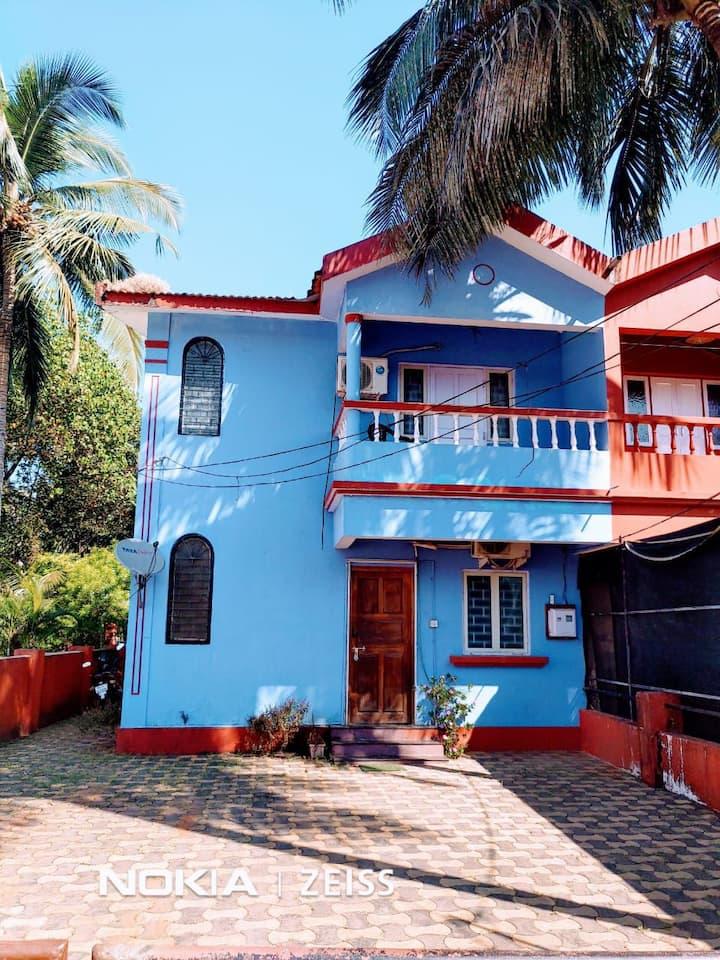 2bhk house near Candolim beach