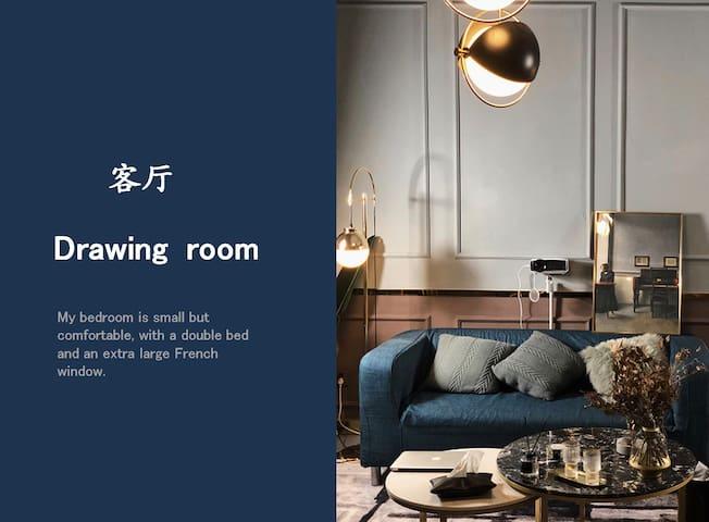 【24K HOME】现代公寓/解放碑洪崖洞地铁口/江景房/美食街