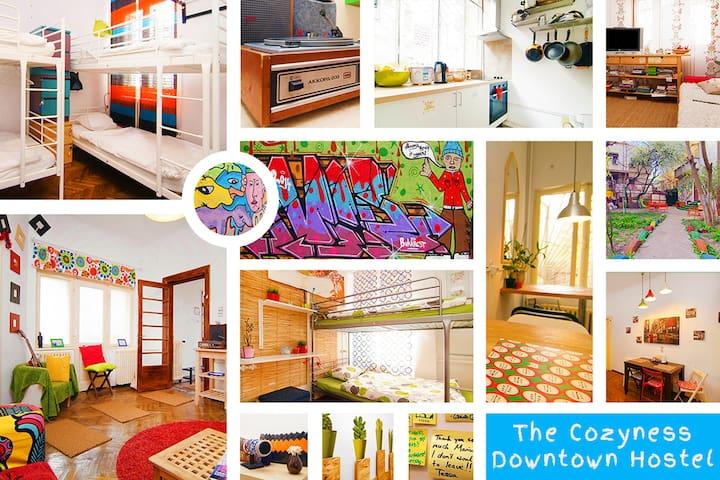 The Cozyness Hostel 32 bed - Bucharest - Rumah