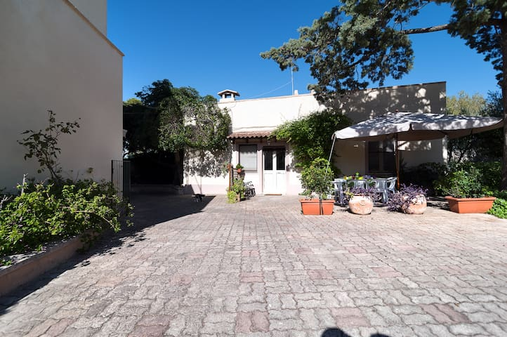 Salento: house in the garden