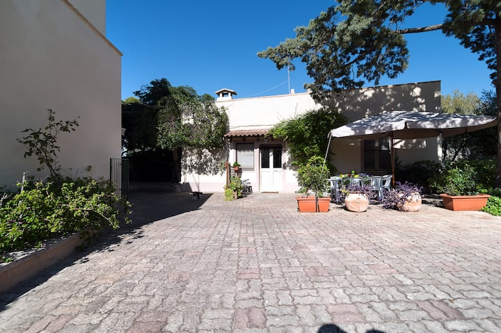 Salento: house in the garden
