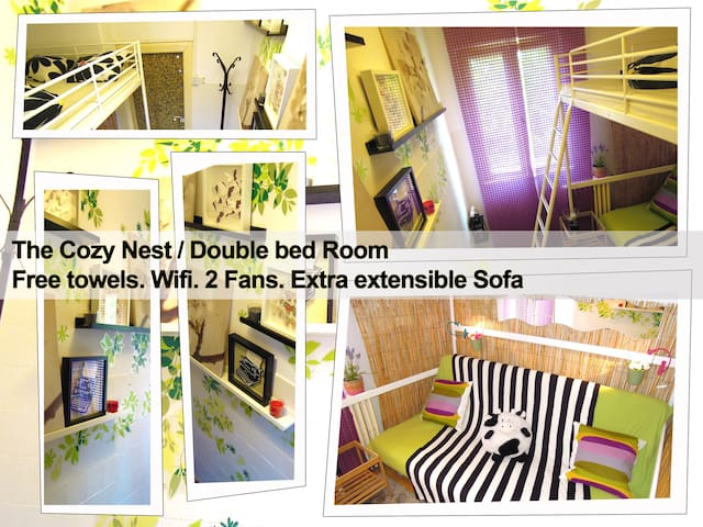"""""""The Cozy Nest"""" - Double Bed Room"""