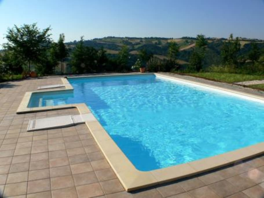 The pool, at 11m x 5m, and it's wide surround and outstanding landscaping will make you VERY happy