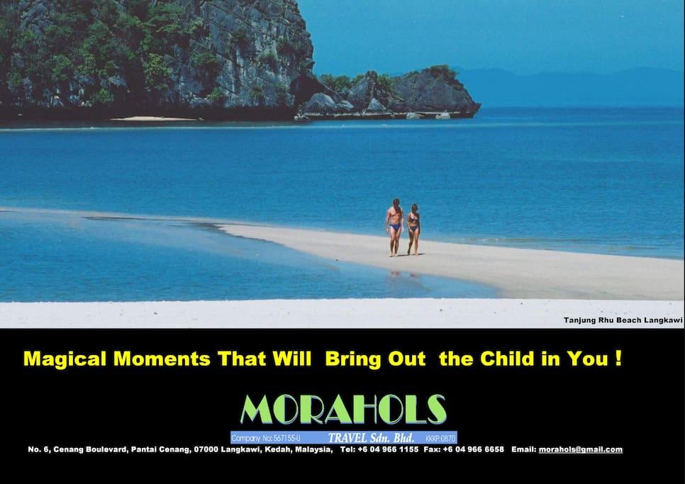 Morahols Travel Sdn Bhd, Mr Eric Sinnaya's own travel business