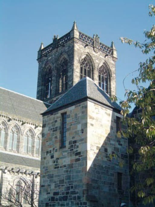 Paisley Abbey, cradle of the Stewart Kings.