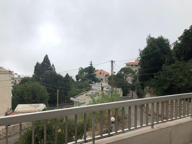 A brighten peaceful apt. in Lebanon's mountains