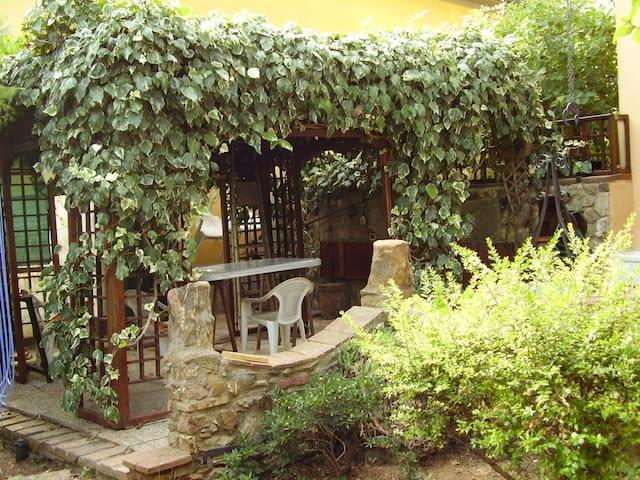 Graziosa casa con giardino, animali ammessi - Filare-boschetto-miniera-Gavorrano - House