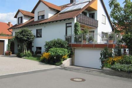 """ruhige Fewo"""" Abendstille am Obstgarten"""" - Zapfendorf - Byt"""