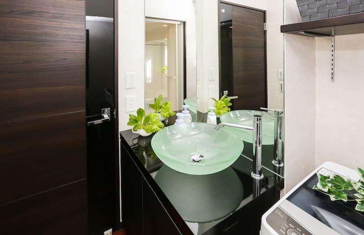 [#803]広々ッ!!お風呂が魅力的☆Wi-Fi・洗濯機無料/名古屋駅まで4分
