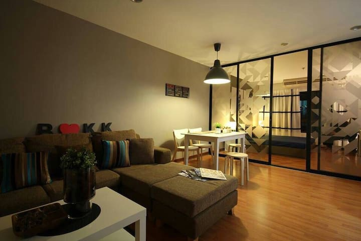 Cozy room in a quite neighborhood - Banguecoque - Apartamento