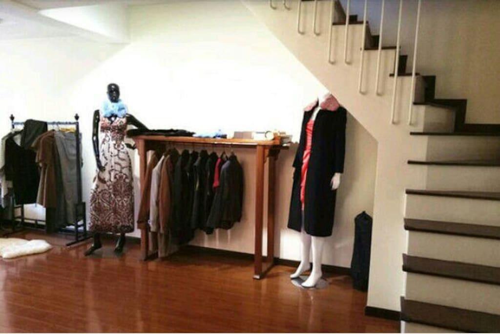 客厅 设计师展示间