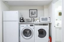 Laundry, Fridge, Small Appliance and Fire Extinguisher