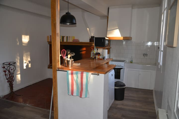 Gîte de l'Immortelle 90 m² - Latour-de-France - Huis