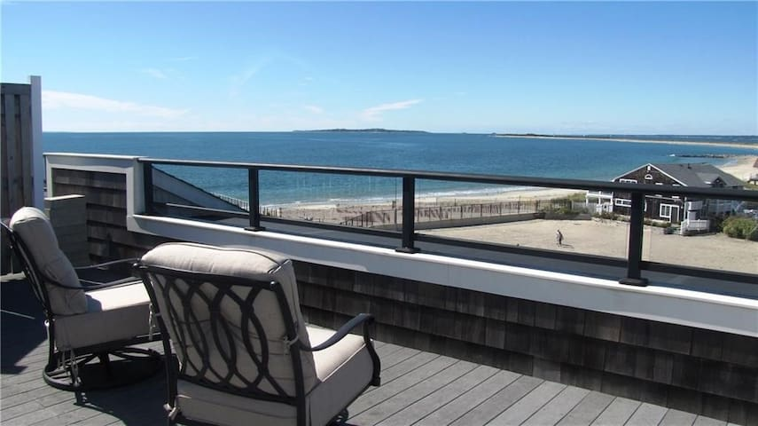 Watch Hill penthouse with  Ocean and Bay views