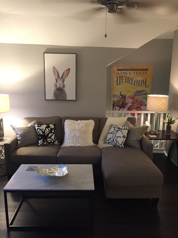 Furnished 1 bdr, city view