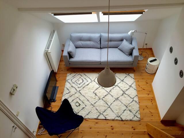 Appartement lumineux, quartier arboré - Uccle - Leilighet