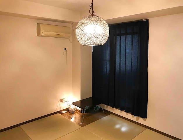 Great location Center of KYOTO Free ,Tatami room
