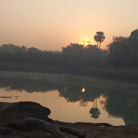 Sunrise in Dahanu
