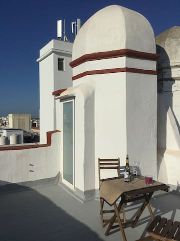 Torre Mirador con panorámica Cadiz - Cádiz - Wohnung