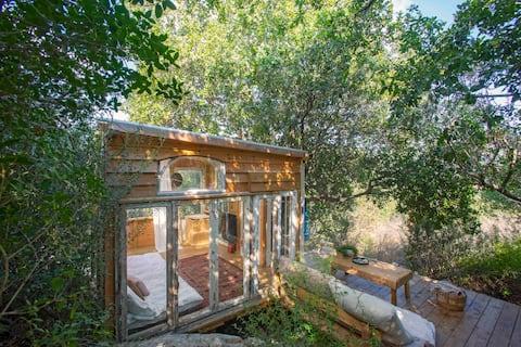 Kedma, impresionante cabaña  en la naturaleza(DayaGeusthouse)
