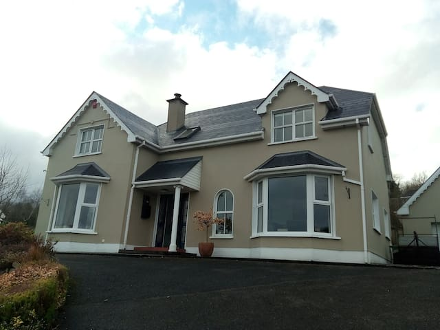 Cosy double with stunning views and tranquility - Letterkenny - Rumah