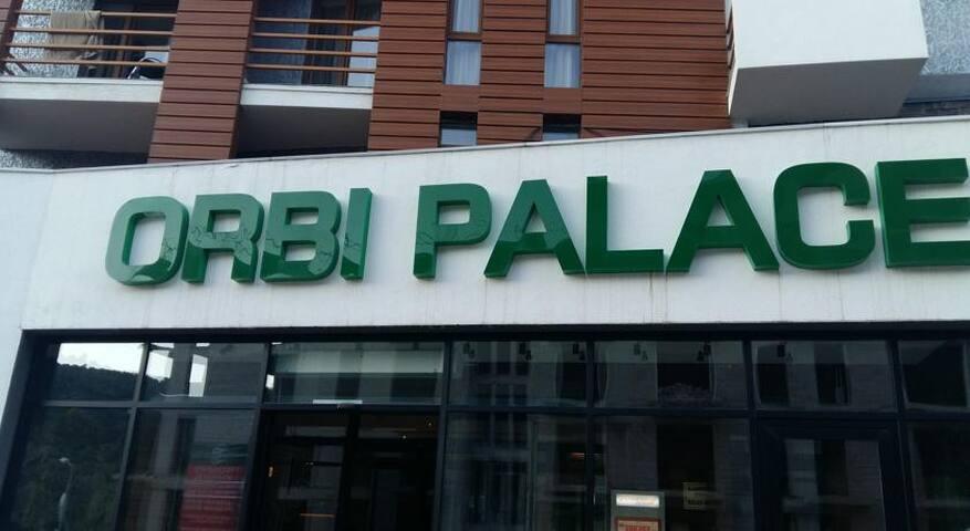 Orbi Palace расположен в самой развитой части курорта Бакуриани.