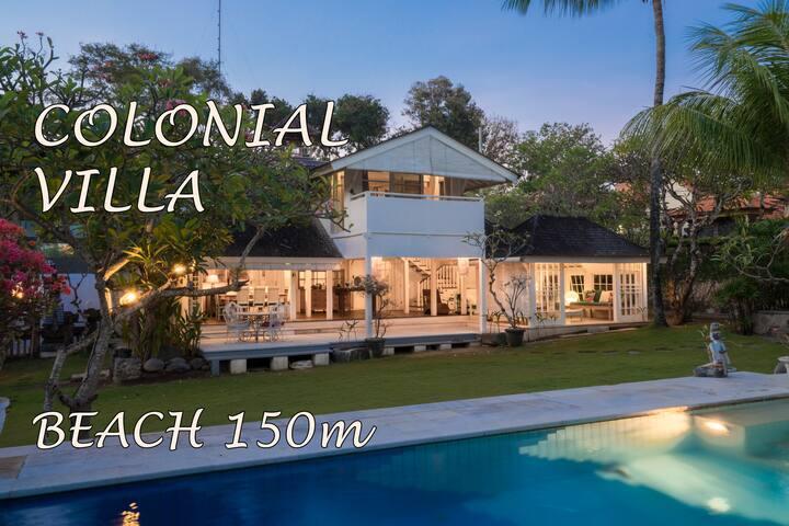 Huge Luxury 3BR Villa at Beach