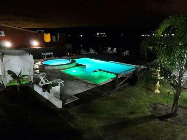 Cabañas Los Palmares: ¡increible vista al lago! 5 - Villa Carlos Paz - Casa
