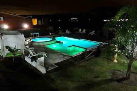 Cabañas Los Palmares: ¡increible vista al lago! 5 - Villa Carlos Paz - House