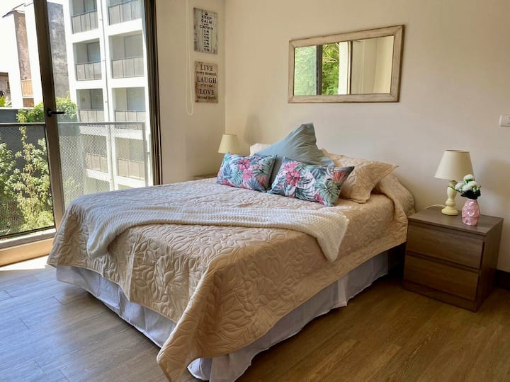 2 guests apartment in the heart of Santiago