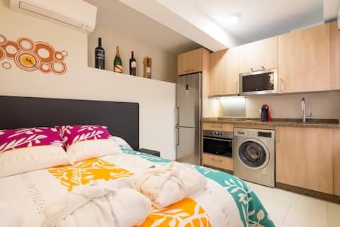 Apartamento tipo estudio en el centro de Malaga.