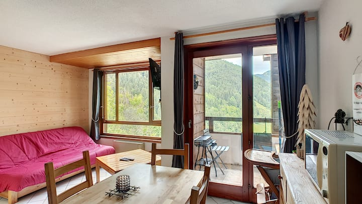 Apartment with swimming pool and WIFI access - Saint Jean d'Aulps ski resort - 4 people - COFI S37