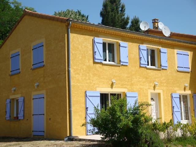 chambre avec vue... - Saint-Barthélémy-de-Vals - Casa