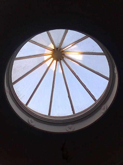 ... a wonderful blue-sky cupola!