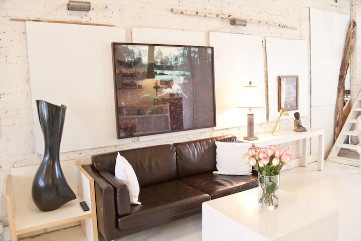 LightOpenAiryRusticModern Loft Apartments for Rent in