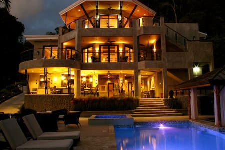 Luxury Home, Dominical Costa Rica - Dominical Beach - House